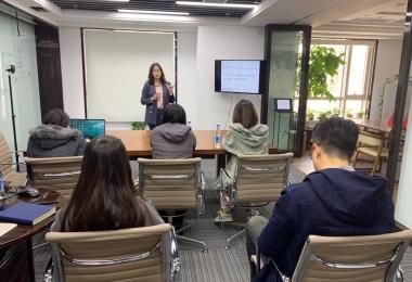 新动态 | 徐丹律师授课三个尽职调查项目实战